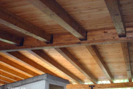 Tetto in legno duemme tetti - Tetto in legno interno ...